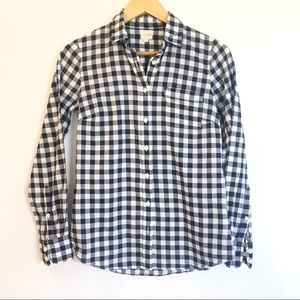 J Crew The Perfect Shirt Button Down Size Small